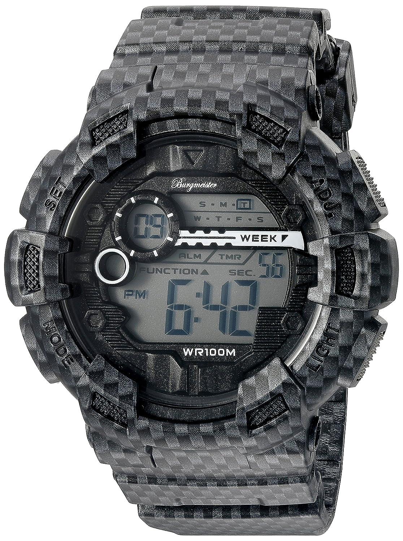 Burgmeister Reloj Digital para Hombre de Cuarzo con Correa en Plástico BM803-622