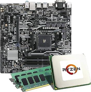 CSL-COMPUTER Pack de placa base, CPU ASUS Prime B350M-A / AMD: Amazon.es: Electrónica