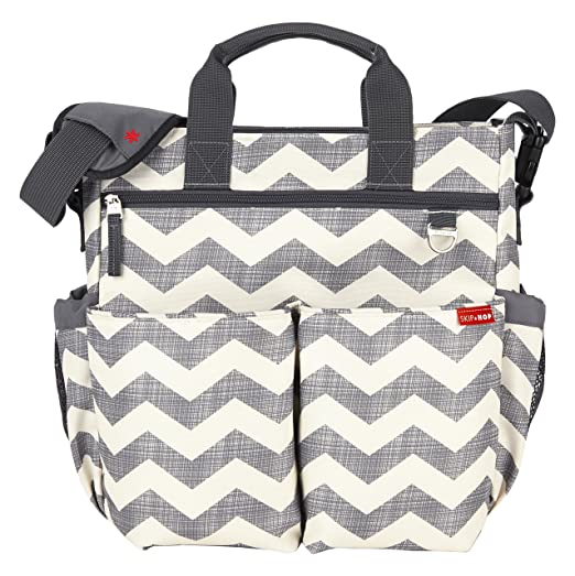 Skip Hop Baby Duo Signature Diaper Bag Review