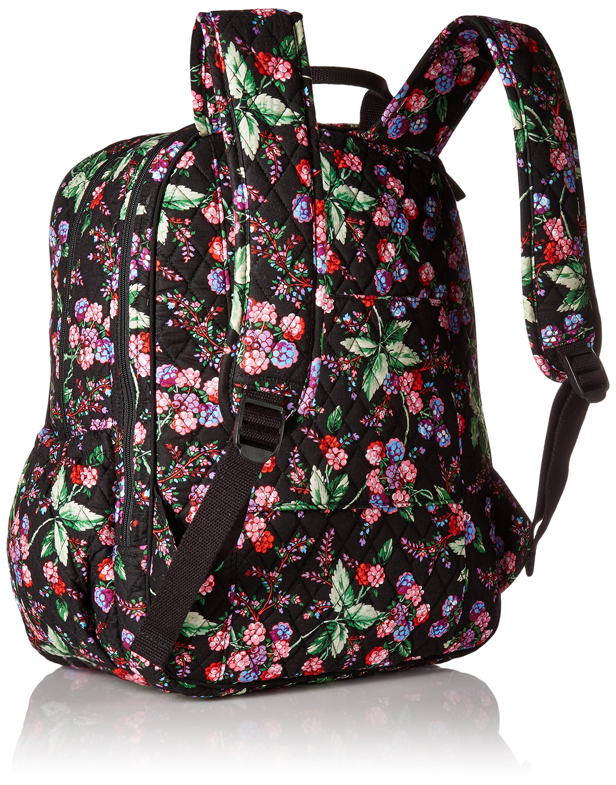 Vera Bradley Women's Campus Tech Backpack-Signature, Winter Berry by Vera Bradley (Image #2)