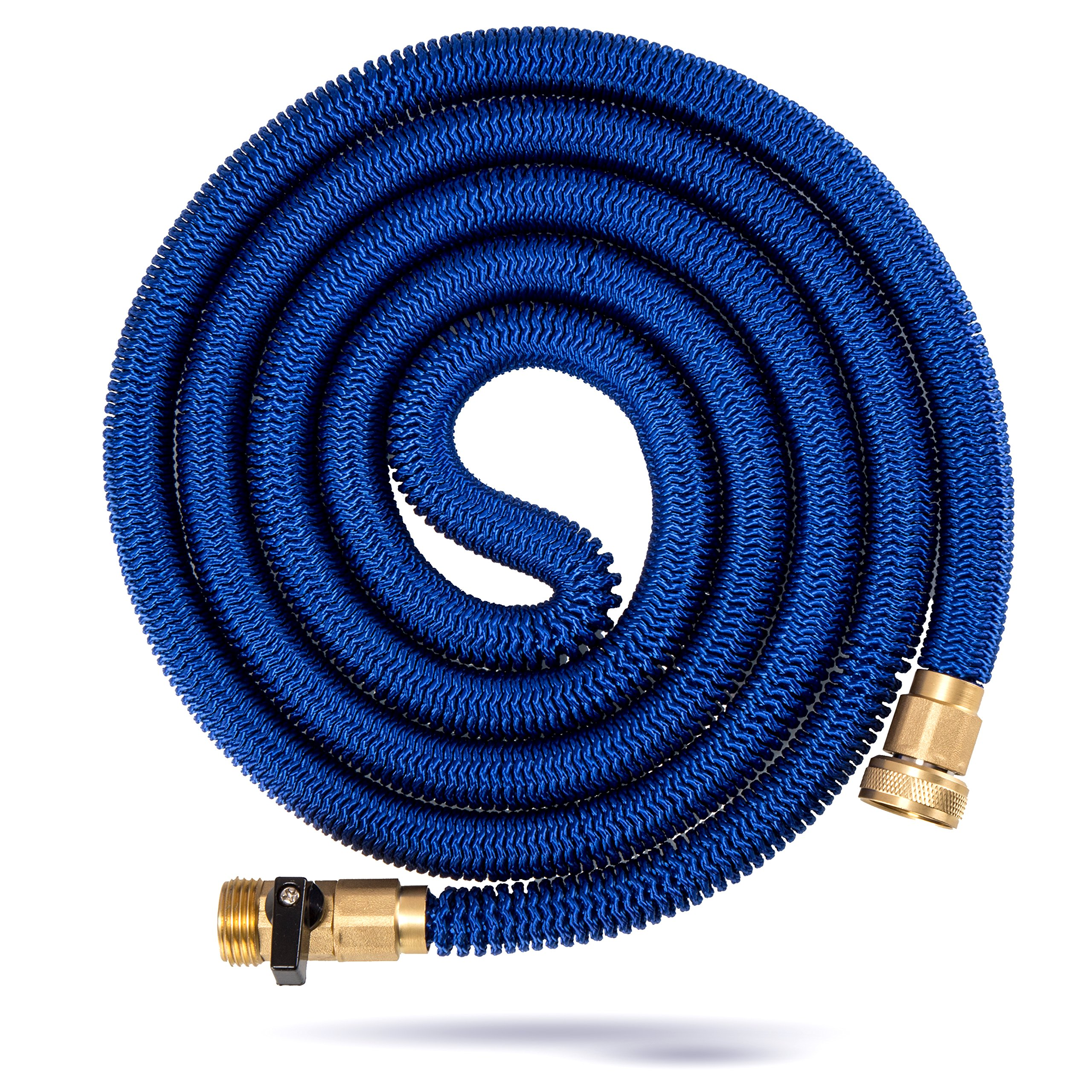 Kevri Expandable Garden Hose (50 Feet) Tangle and Kink Free Coil | Lawn and Gardening for Plants, Flowers, Vegetables | Heavy-Duty, Multipurpose Home Use by Kevri