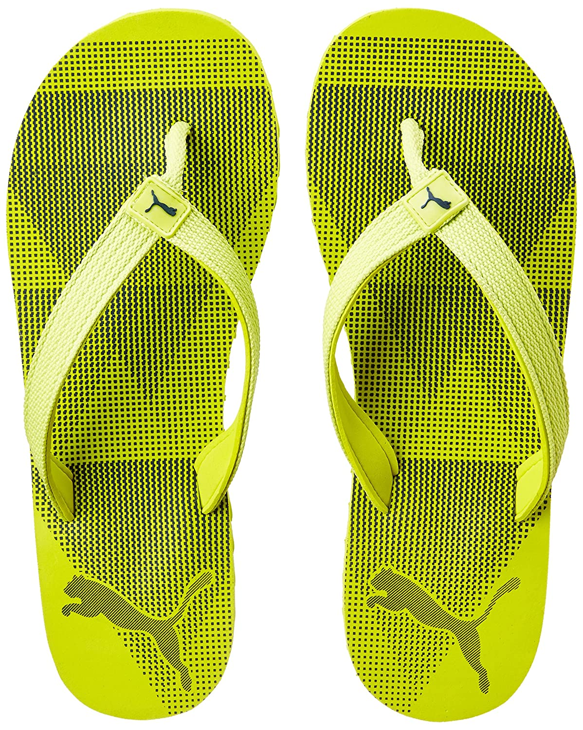 Puma Unisex Insta IDP Nrgy Yellow-Blue Depths Flip Flops Thong Sandals - 7  UK India (40.5 EU) (36637401)  Buy Online at Low Prices in India - Amazon.in 78d872fb0