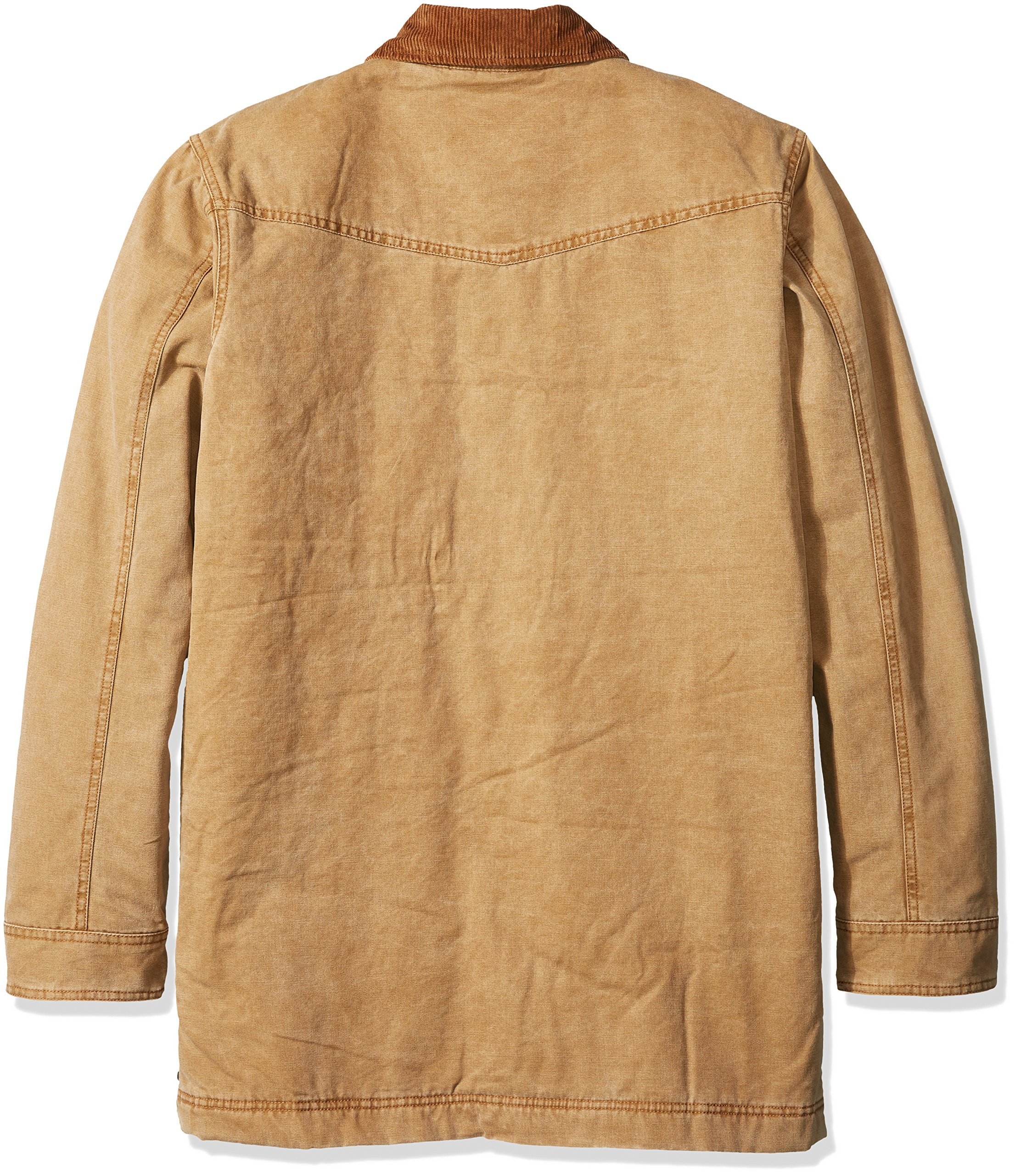 Walls Men's Big Redford Vintage Duck Barn Coat, Washed Pecan, 2X Tall by Walls (Image #2)