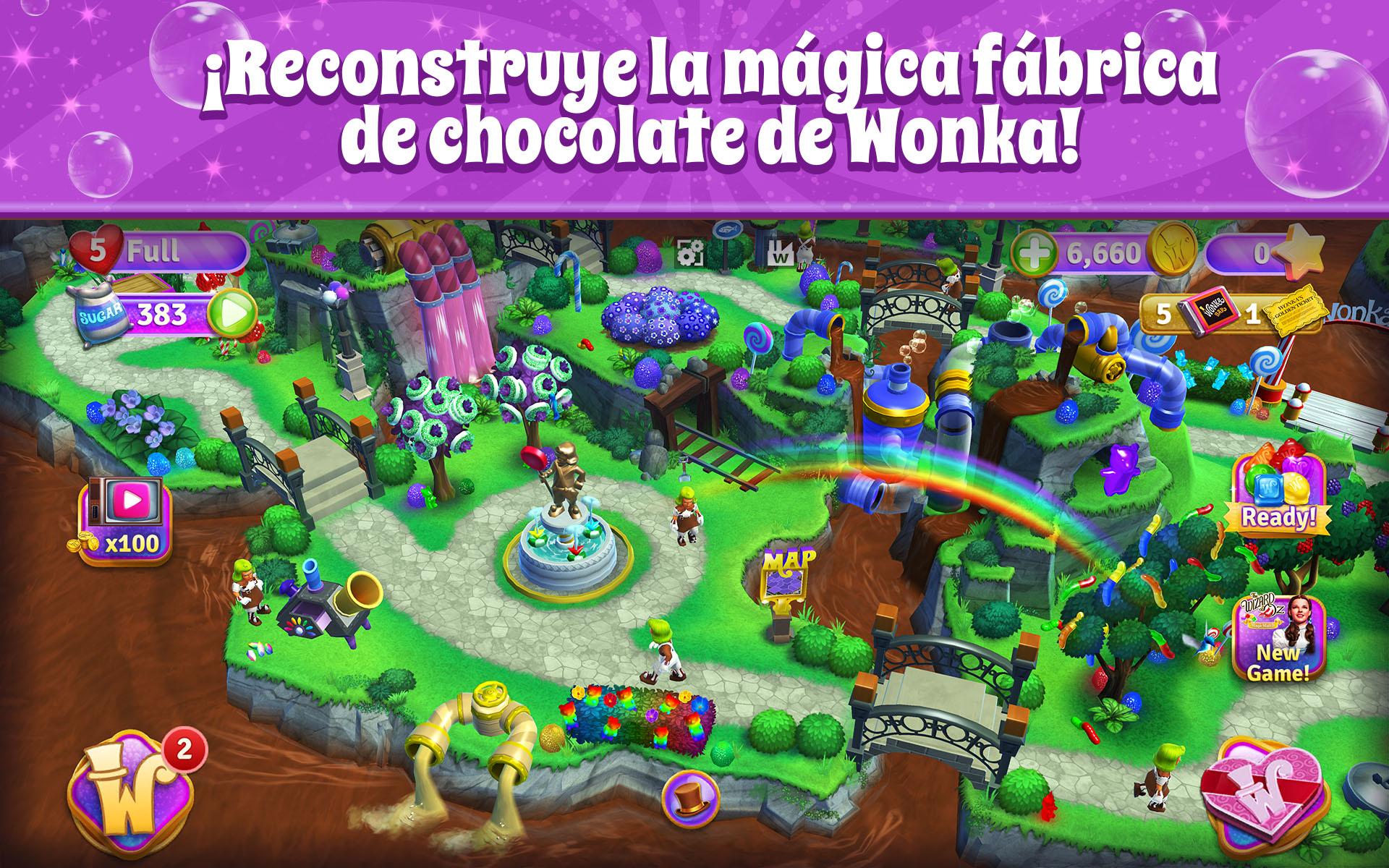 Wonka: Mundo de Dulces – Match 3: Amazon.es: Amazon.es