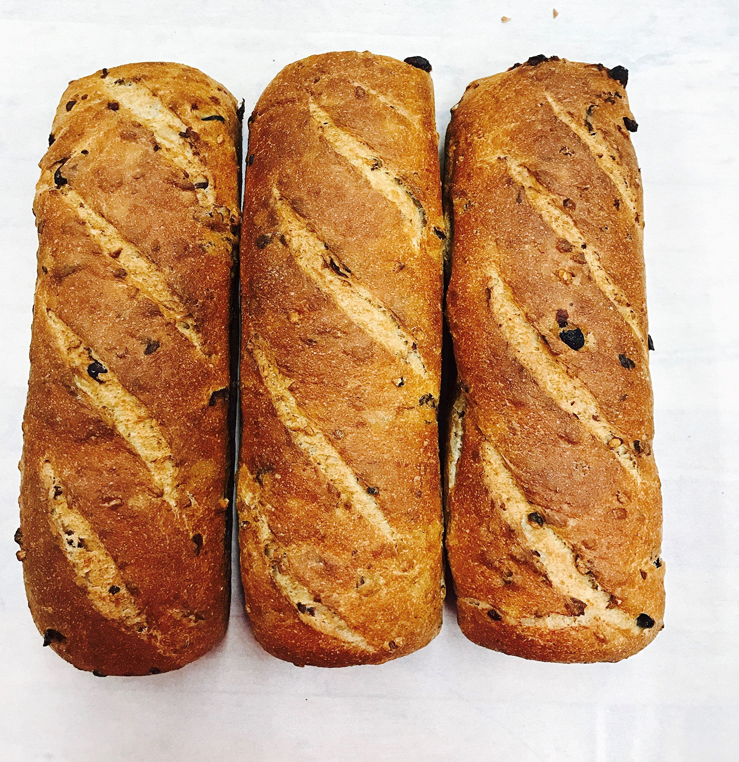 Alaska Cranberry Walnut Sourdough Bread (3-Pack)