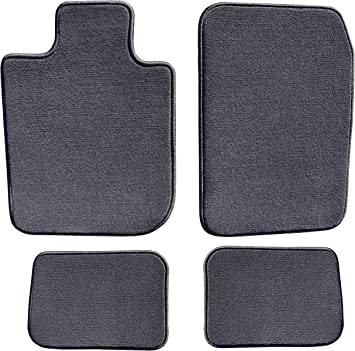 GGBAILEY Black Oriental Driver /& Passenger Floor Mats Custom-Fit for Lexus ES 350   2010-2018