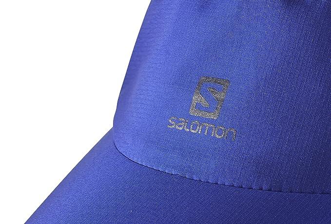 e4093d6f Unisex Adulto Nero Salomon L39423400 Cappellino Impermeabile Waterproof Cap  Taglia Unica