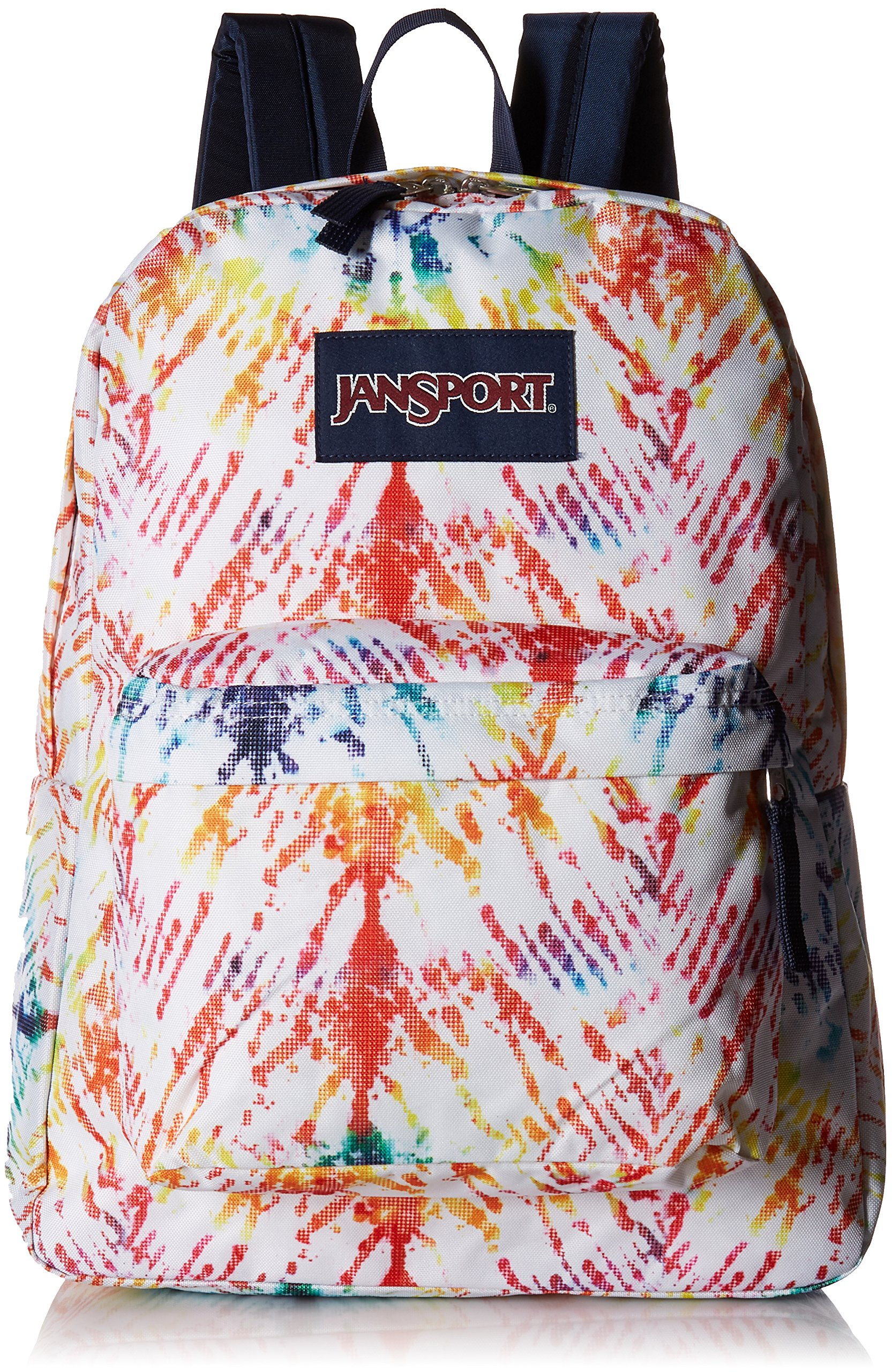 JanSport Unisex SuperBreak Rainbow Tie-Dye One Size by JanSport