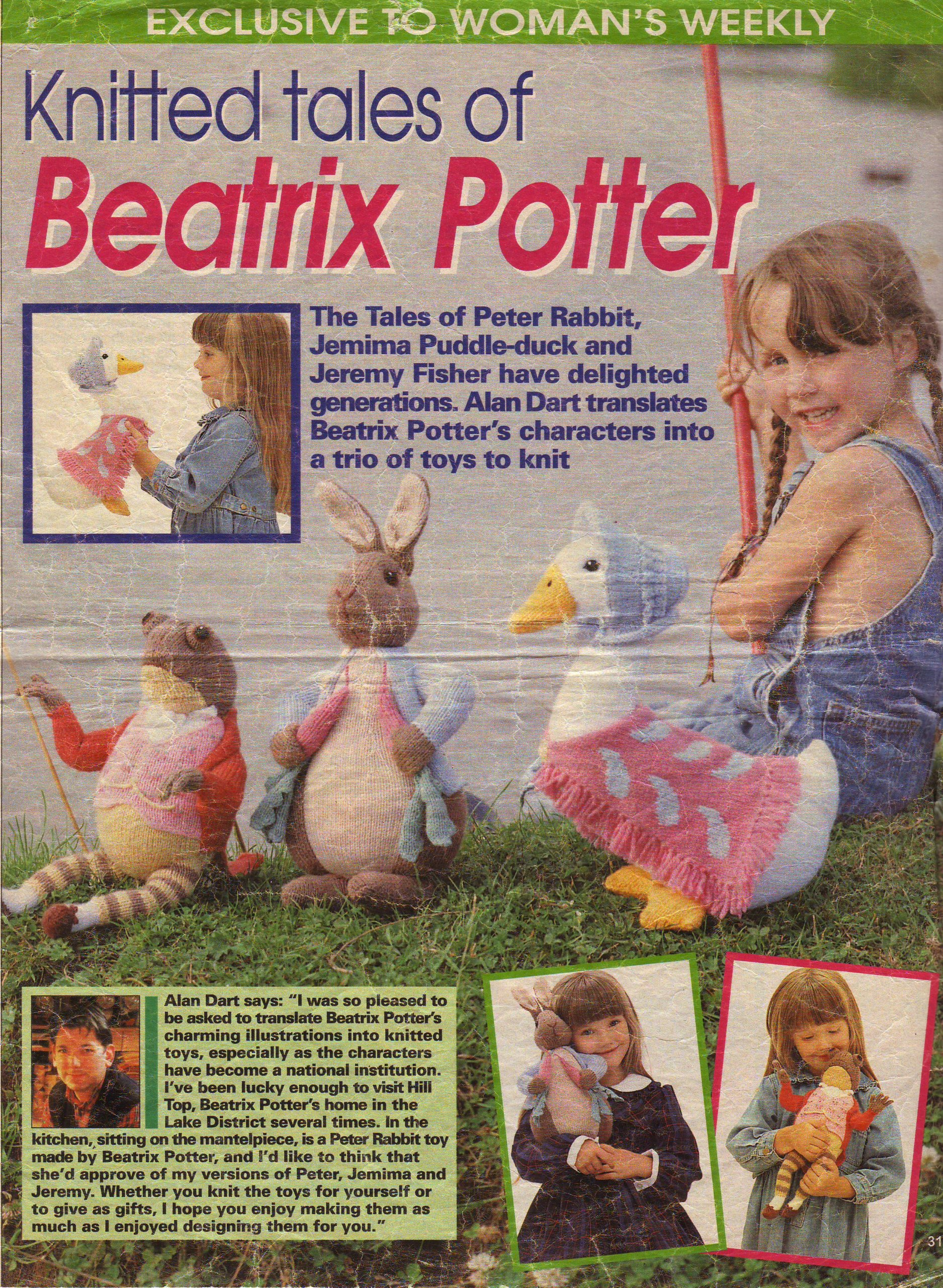 Beatrix Potter Peter Rabbit, Jemima Puddle Duck and Jeremy Fisher by ...