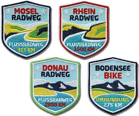 Juego de 4, Stick nadadores/Río de rutas en Danubio, Rhein, Mosel ...