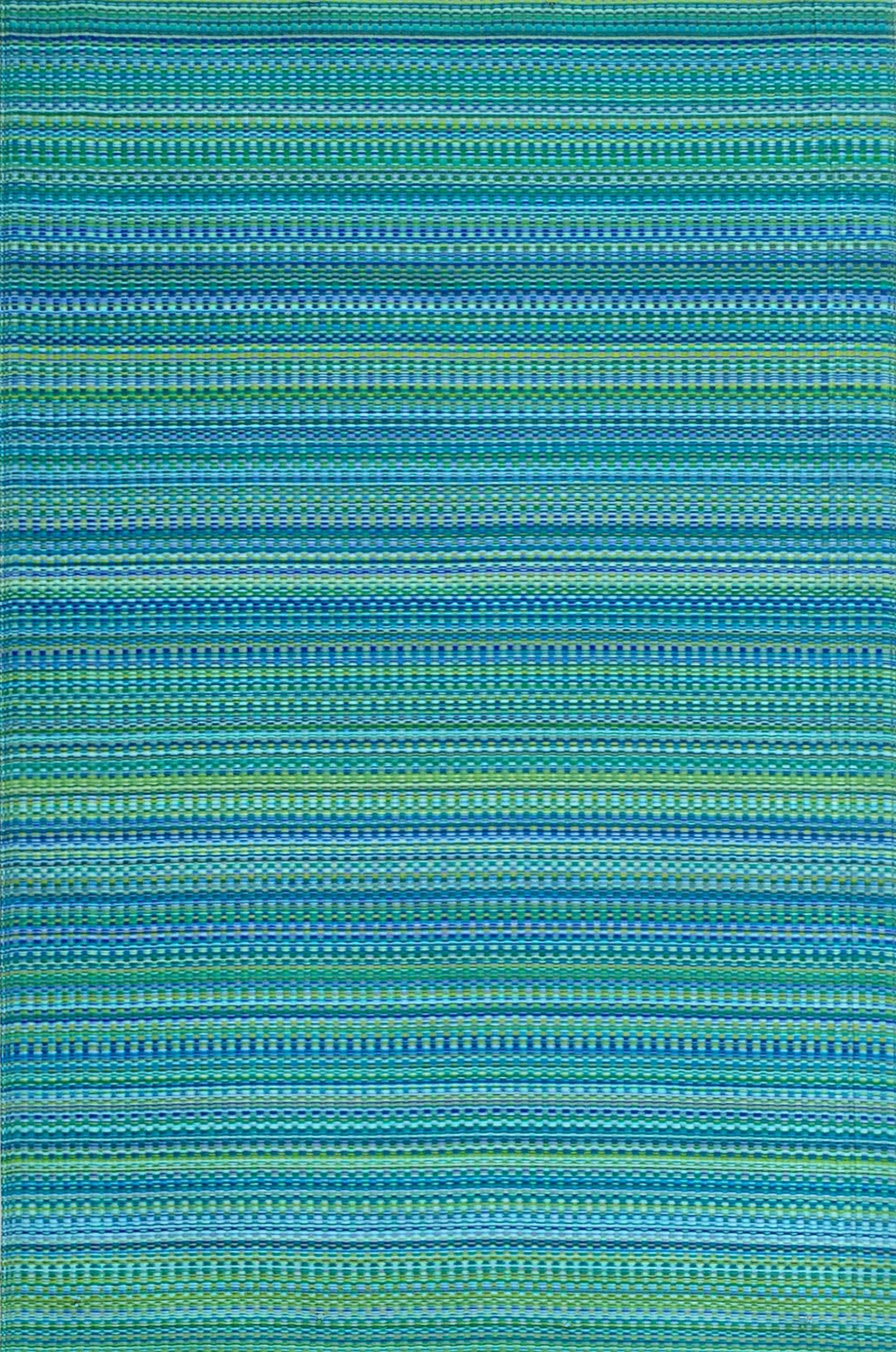 Mad Mats Mixed Indoor/Outdoor Floor Mat, 6 x 9 Feet , Tropical