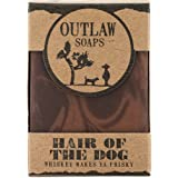 Hair of the Dog Whiskey Soap - 2 pack of handmade bar soap with natural ingredients, for men and women