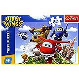 Trefl Puzzle 4 en 1 Super Wings Globo 07303