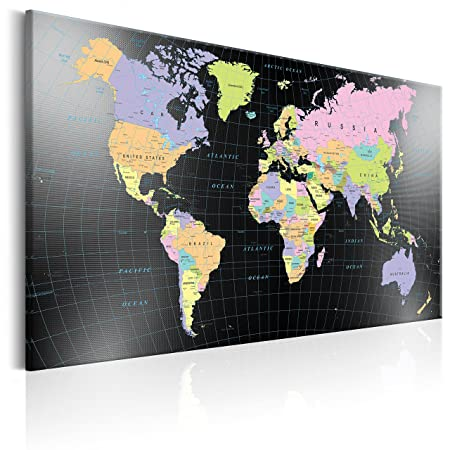 Murando pinboard map 120x80 cm 472 by 315 in image printed murando pinboard map 120x80 cm 472 by 315 in image printed on gumiabroncs Choice Image