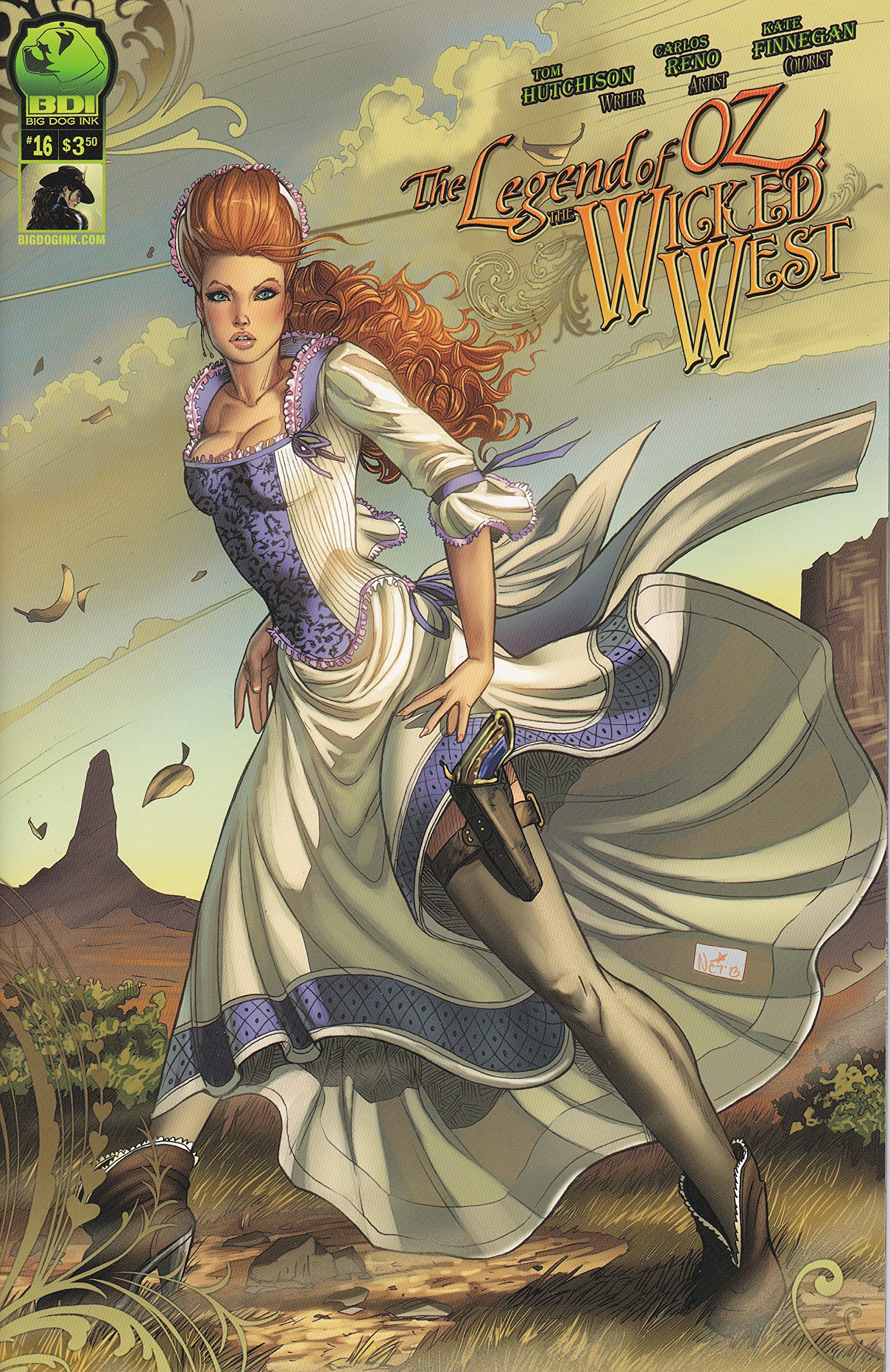 Download The Legend of Oz The Wicked West Vol 2. No. 16 Cover B ebook