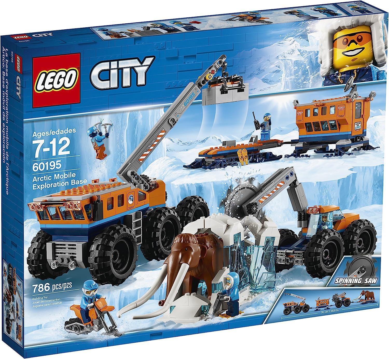 Lego Moc Reddish Brown Woolly Mammoth 60195 Arctic Animal Big Figure Minifigure