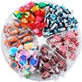 Firstchoicecandy Sugar Free Candy Gift Tray - 6 Section - No Sugar-Diabetic Friendly