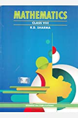 Mathematics for Class 8 by R D Sharma (2019-2020 Session) Paperback