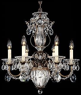 product image for Schonbek 1246-40A Swarovski Lighting Bagatelle Chandelier, Silver