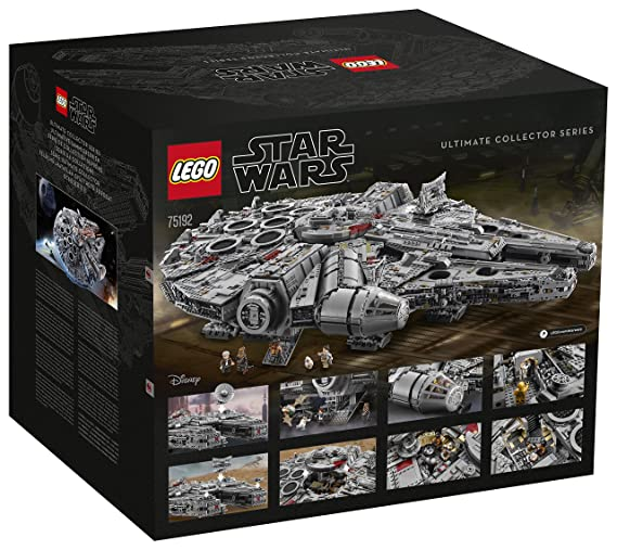 Lego Star Wars 75192 Millennium Falcon 2017 Edition UCS: Amazon.co ...
