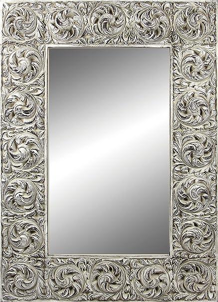 Espejo Fabricado en España y Decorado a Mano- Medida Exterior ...