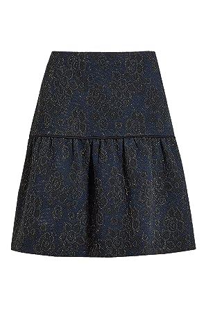 next Mujer Falda Diseño Jacquard Metalizado Midi: Amazon.es: Ropa ...