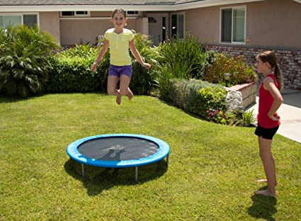 Amazon.com : Variflex 38 Inch Mini Band Trampoline : Exercise Trampolines :  Sports U0026 Outdoors