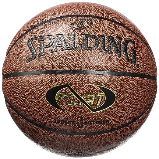 2 opinioni per Spalding- Pallone NBA Neverflat indoor/outdoor, Arancione (arancione), 7