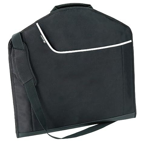Alpamayo® Valija, Portatrajes, Bolsa para trajes y camisas sin arrugas. Incluye correa para hombro, maleta de negocios ideal para el equipaje de mano ...