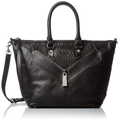 Womens le-zipper Le-ninna - Handbag Top-Handle Bag Black (Black) Diesel KoFx1Ua