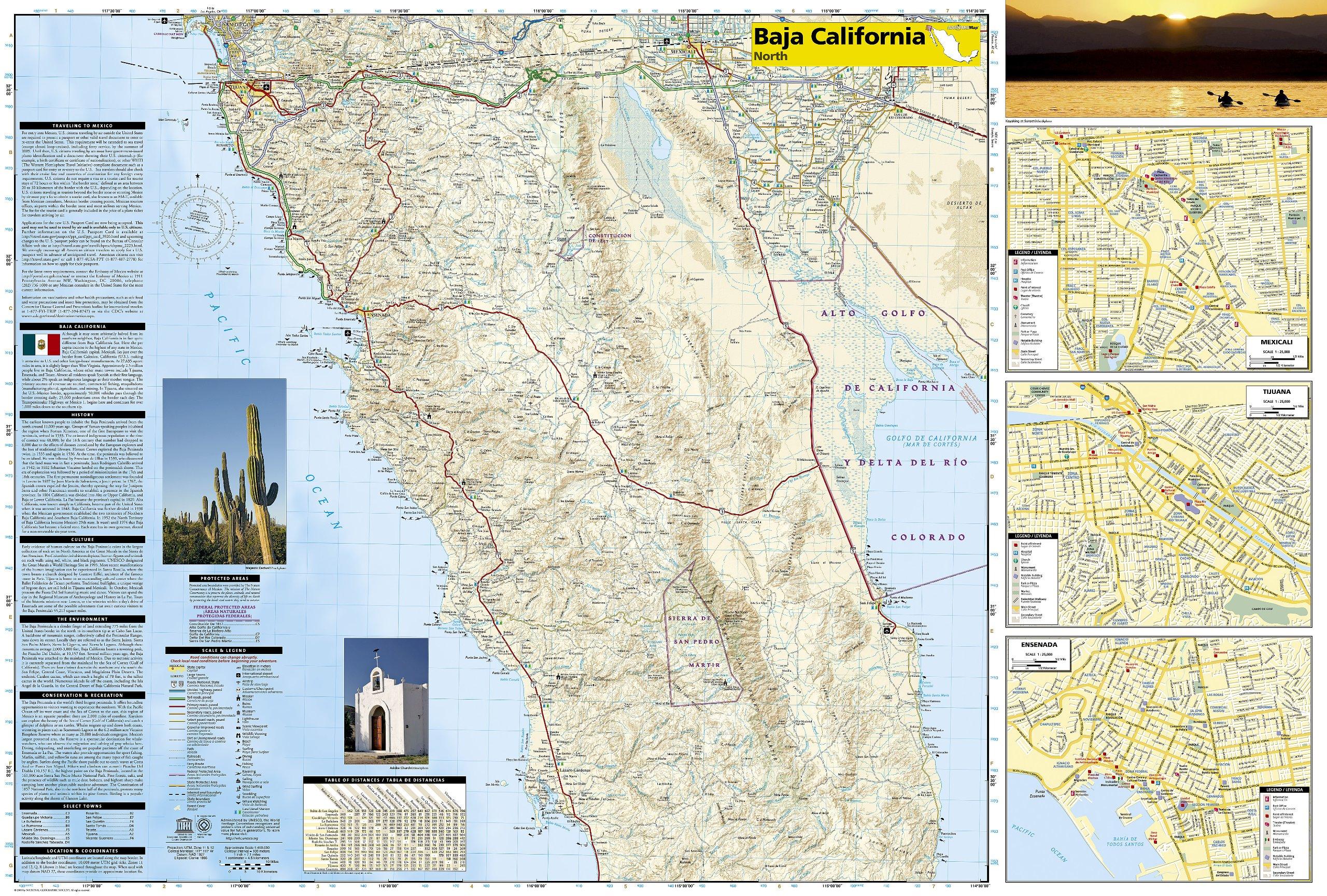 Baja North: Baja California [Mexico] (National Geographic Adventure ...