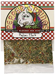 Pepper Springs Bread Dipping Oil Mix, Italian Herb, .6 Ounce