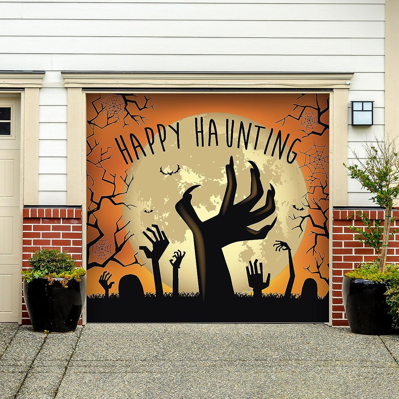 Amazon.com: Victory Corps Outdoor Halloween Holiday Garage Door ...