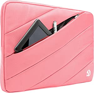 Roxie 9 10 10.5 Inch Waterproof Tablet Sleeve Case Bag for Lenovo Tab 10, Smart Tab M10 P10, Yoga Tab 3, ThinkPad 10, Galaxy Tab 10.1 10.5, Surface Go 2, Fire HD 10, Fire HD 8 Plus