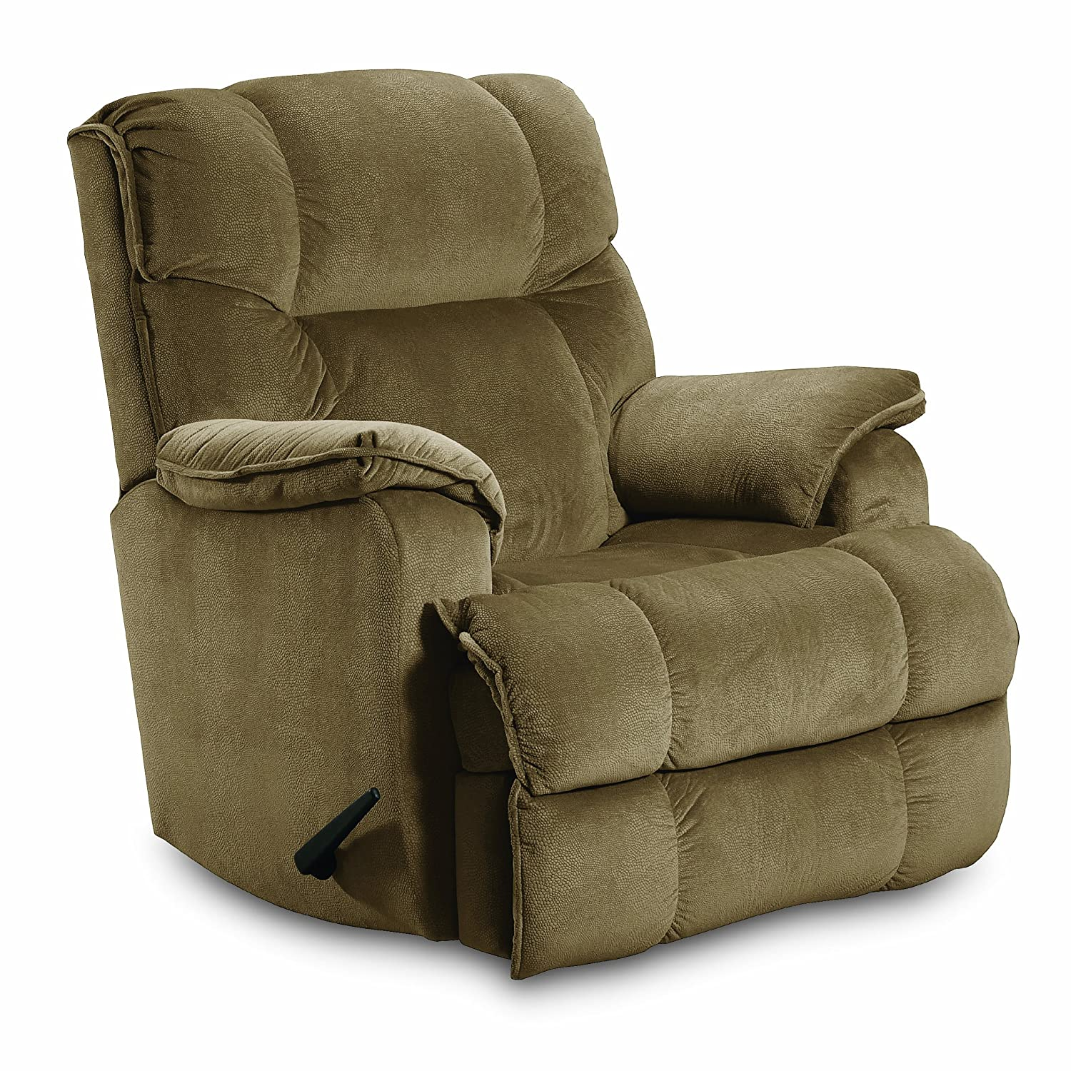 Amazon.com Lane ComfortKing Grant Rocker Recliner for Big and Tall Tan Kitchen u0026 Dining  sc 1 st  Amazon.com & Amazon.com: Lane ComfortKing Grant Rocker Recliner for Big and ... islam-shia.org