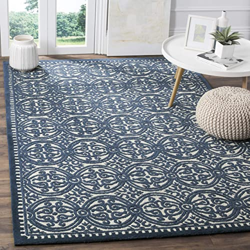 Safavieh Cambridge Collection CAM232B Handmade Wool Area Rug