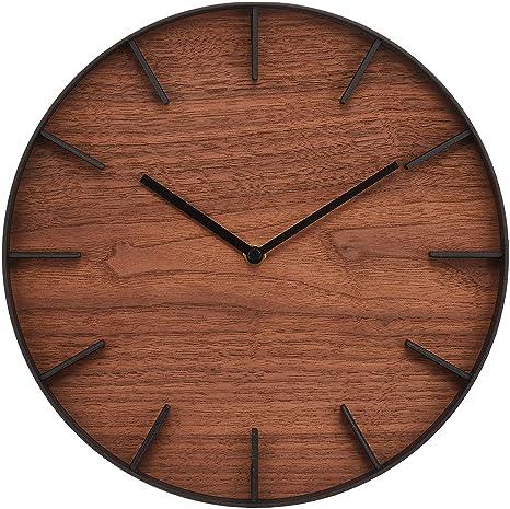 Yamazaki Reloj de Pared Rin (marrón) 4108 【Productos Originales japoneseses】【Envíos