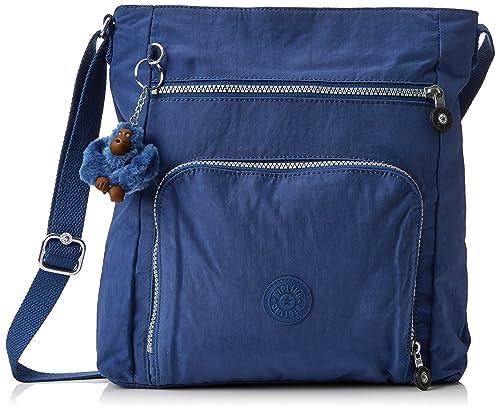 Kipling Elizea, Bolso de hombro para Mujer, Azul (Jazzy Blue), 7.5