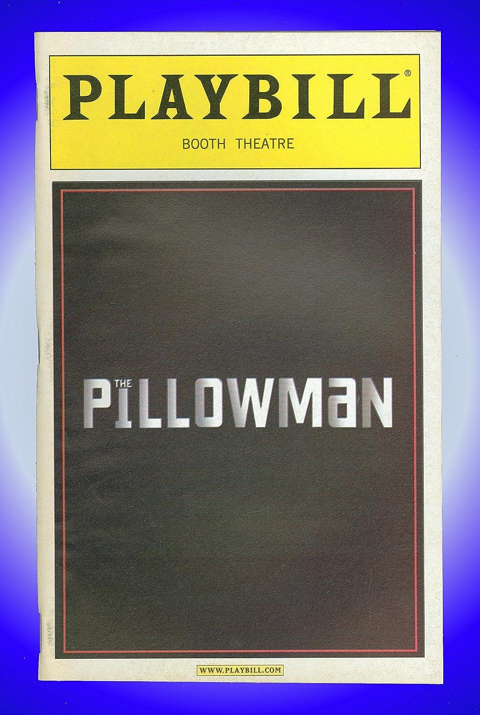 The Pillowman, Broadway Playbill + Jeff Goldblum, Billy Crudup, Zeljko Ivanek, Michael Stuhlbarg, Madeleine Martin