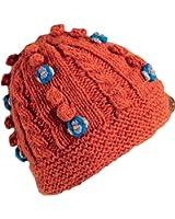 Turtle Fur Women's Nepal Shanta, Artisan Hand Knit Wool Chunky Beanie