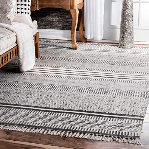 Unique Loom Trellis Collection Geometric Modern Beige Area Rug 3 3 x 5 3