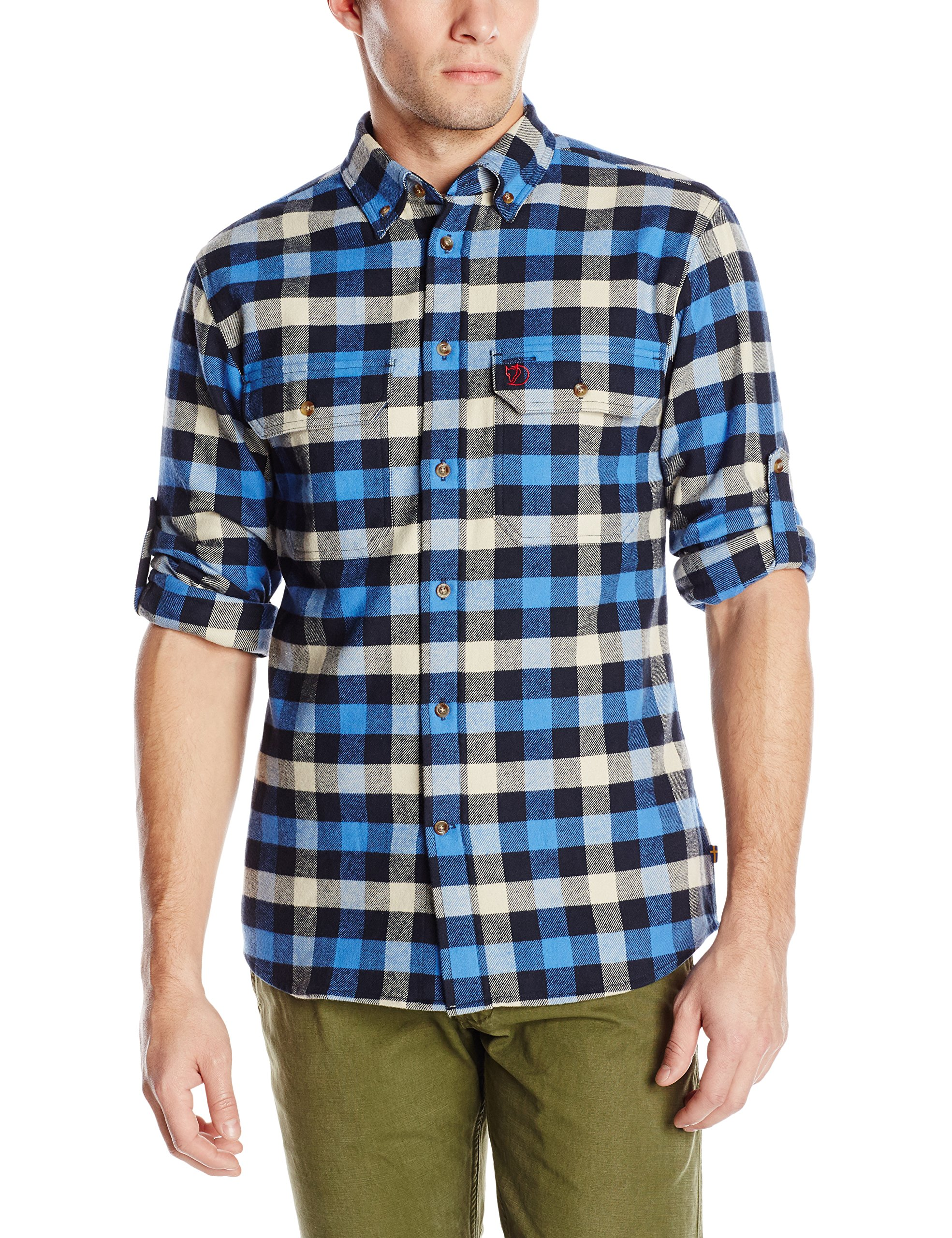 Fjallraven Men's Skog Shirt, UN Blue, X-Large