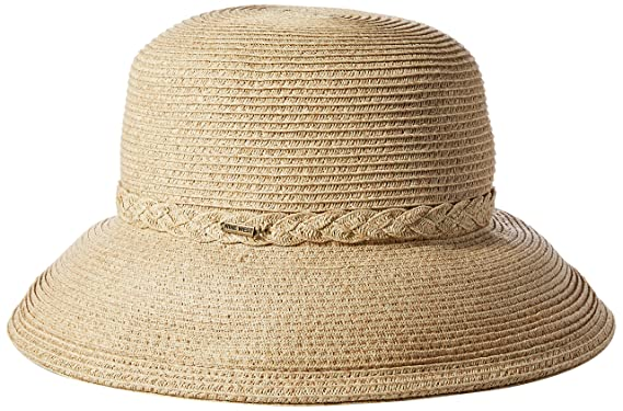 77fe70c56aa42a Nine West Women's Packable Kettle Hat, Sand Heather, One Size at ...