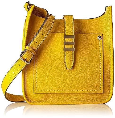 Aldo - Peririen, Bolsos bandolera Mujer, Gelb (Mustard), 9x18x31 cm (