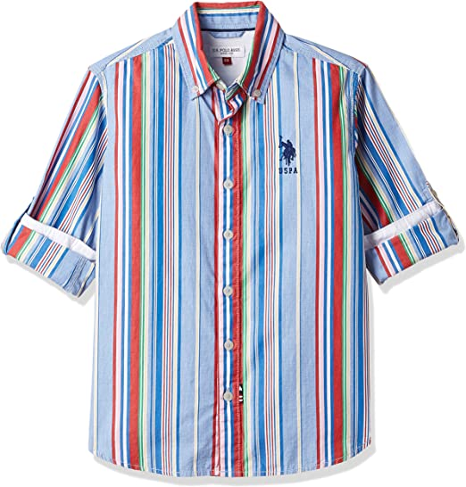 US Polo Association Boys Shirt Boys' Shirts at amazon