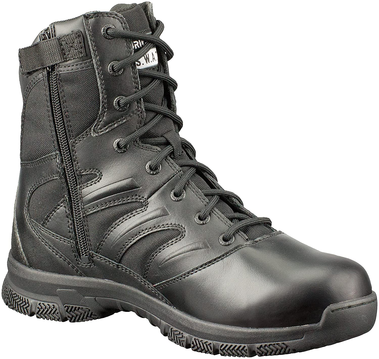 Original S.W.A.T.Force 8' Side-Zip En - Botas de Trabajo Hombre Original SWAT 155231