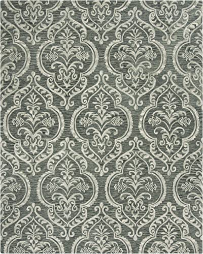 Safavieh Blossom Collection BLM603M Handmade Wool Area Rug