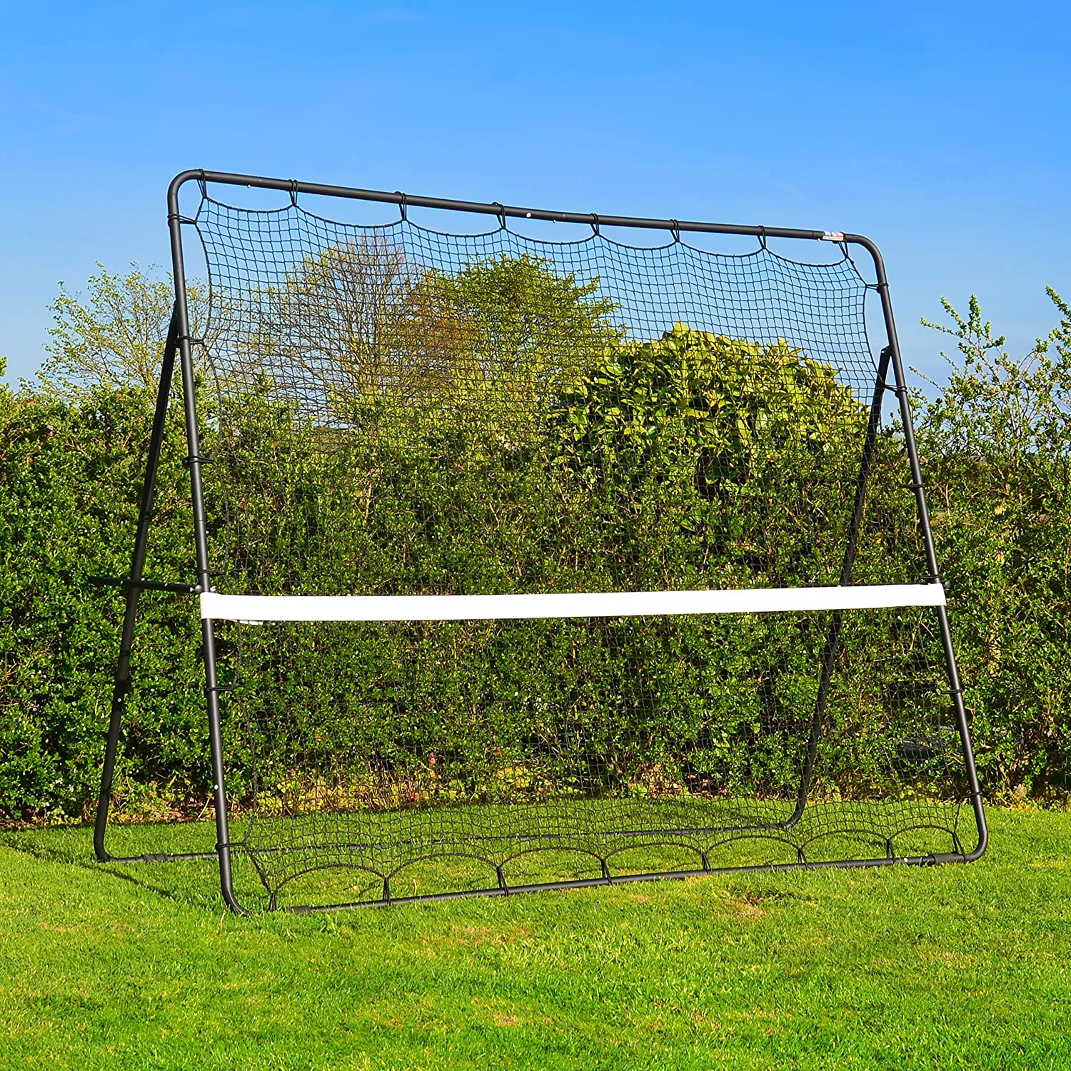 Tennis Rebound Net Trainer - 9' x 7' Net World Sports