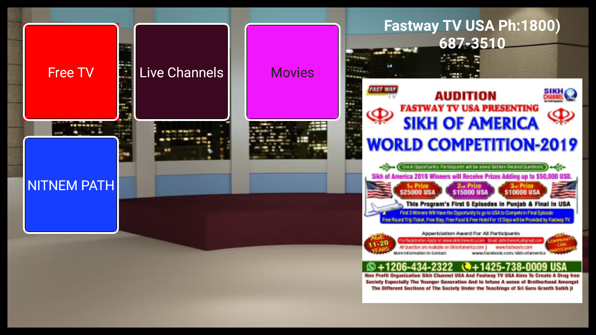Amazon com: Fastwaytv: Appstore for Android
