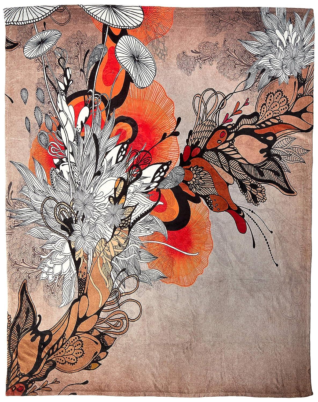 Deny Designs Iveta Abolina Sonnet Fleece Throw Blanket, 60 x 80